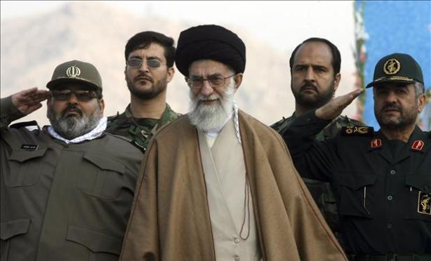 O aiatolá Sayed Ali Khamenei, líder supremo da República Islâmica do Irã.