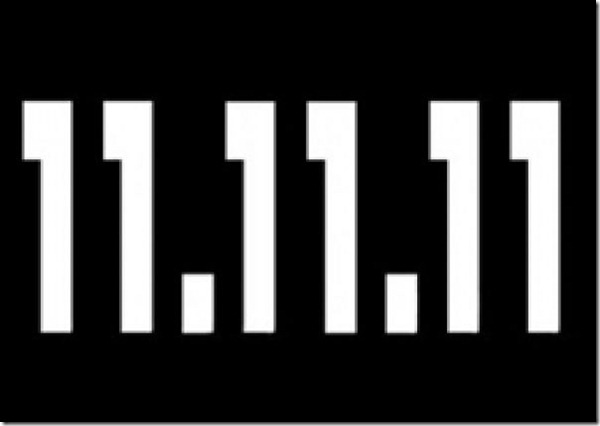 11 de Novembro de 2011 - 11:11h