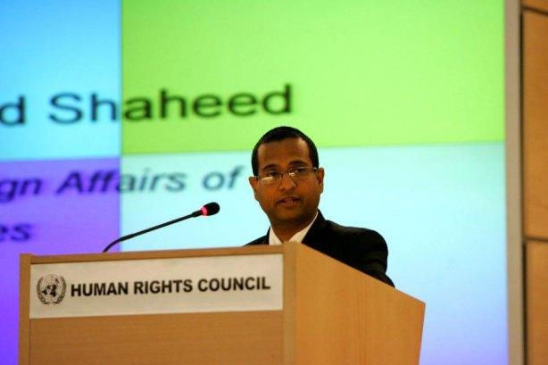 """Ahmed Shaheed - representante do """"Comitê de Assuntos Humanitários"""" da ONU"""