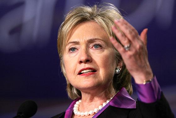 Hillary Diane Rodham Clinton, (Chicago, 26 de outubro de 1947) é a 67ª Secretária de Estado dos Estados Unidos