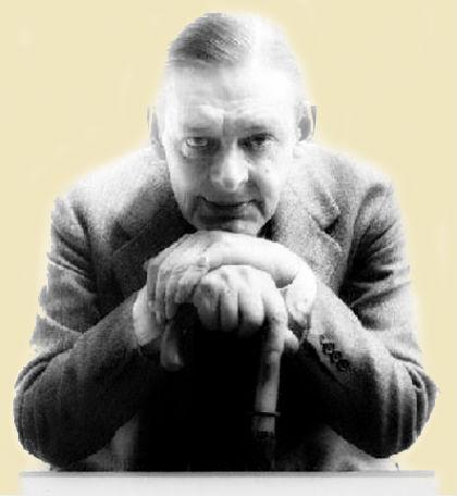 T. S. Eliot, poeta modernista, dramaturgo e crítico literário britânico-americano.