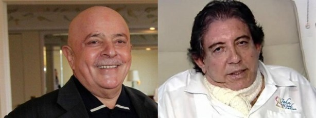 Ex-presidente Luis Inácio Lula da Silva com câncer e o médium João de Deus