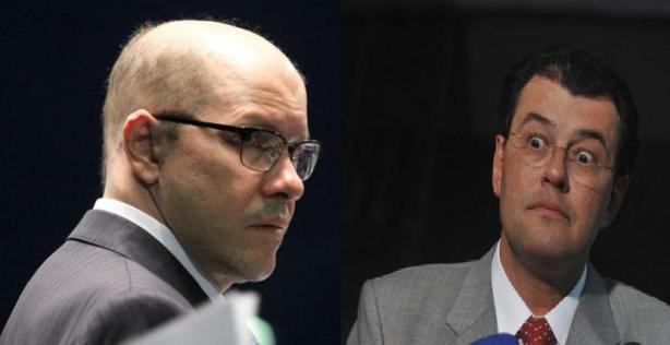 Senadores: Demóstenes Torres e Eduardo Braga
