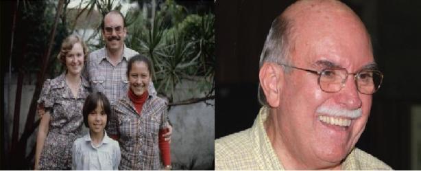 Com sua família em 1975 - Jim Warren Kemp, nasceu no Estado de Míchigan Estados Unidos da América, veio para o Brasil em 1967, casado com Judith Kemp. Em 2012 eles completaram 45 de ministério pró-família aqui no Brasil.