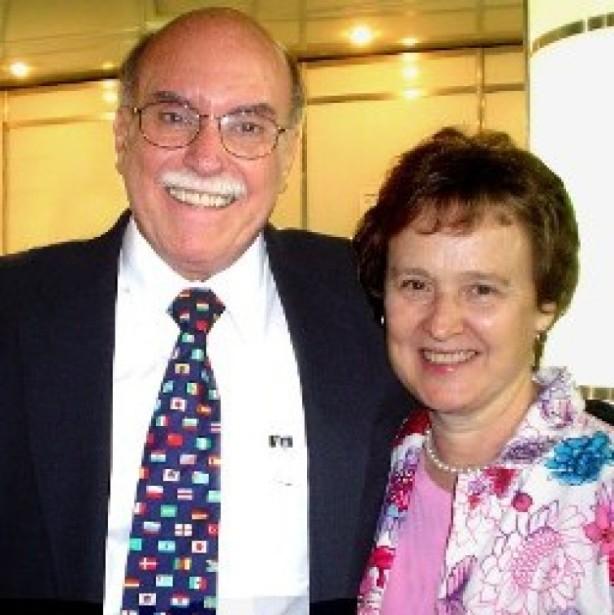 Dr. Jaime Kemp e sua querida esposa Judith