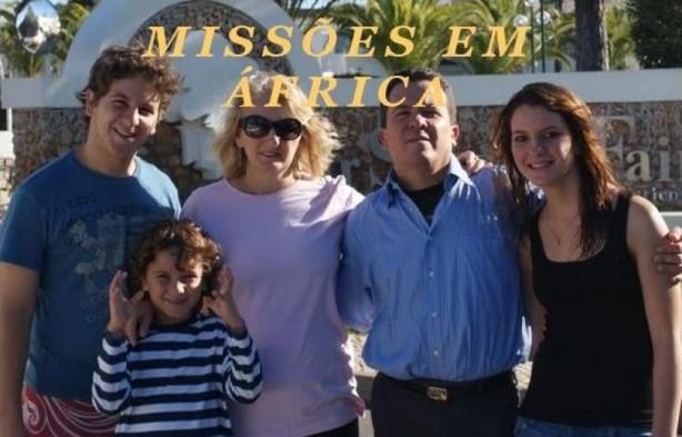 Rev. José Dilson, Marli e filhos - Senegal / África